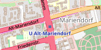 Shopping Map - Mariendorf Damm, 12099 Berlin-Mariendorf