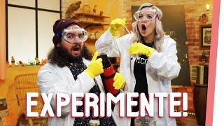 Kelly und Sturmwaffel verabschieden sich mit einem großen Knall in das Wochenende und zeigen euch drei verrückte Experimente.