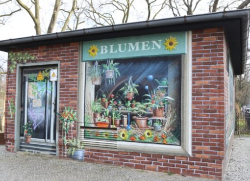 Trafohaus: Blumenladen