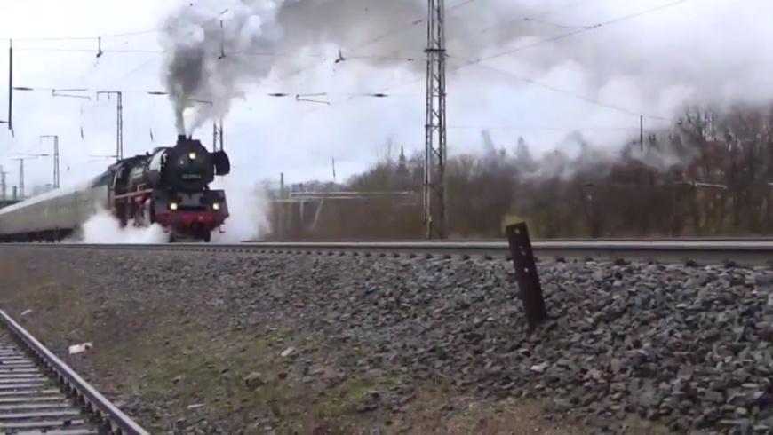 Dampflok fahren in Berlin - die Dampflokfreunde laden ein zur Rundfahrt!