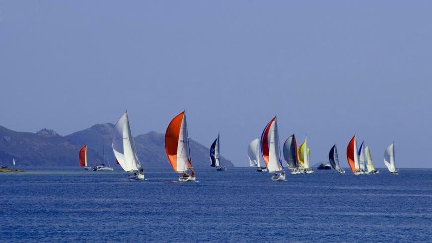 Yachtclub Europa mit vielfältigen Yardstick-Zahlen: