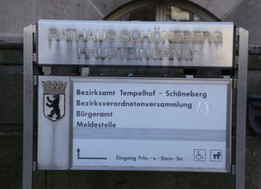 Rathaus Schöneberg Haupteingang