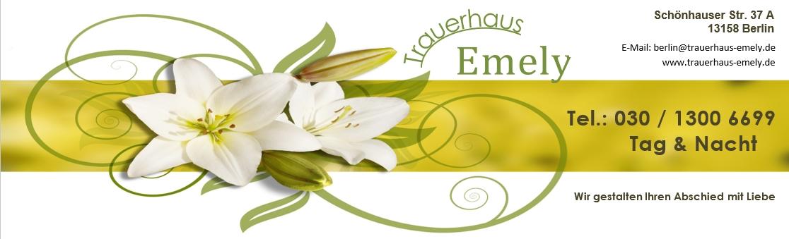 Trauerhaus Emely