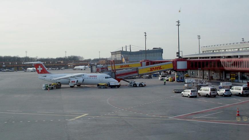 BAE Swiss International Air Lines in TXL