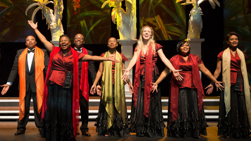 African Angels in der Berliner Philharmonie