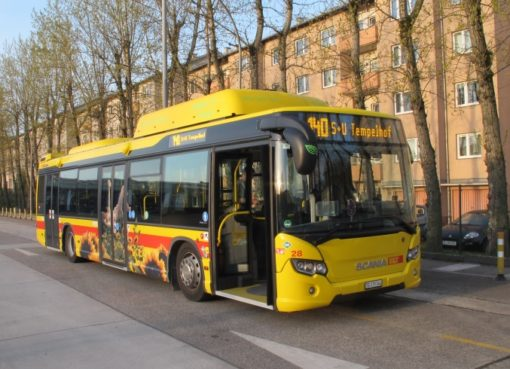 BUS Typ Scania Citywide LF CNG