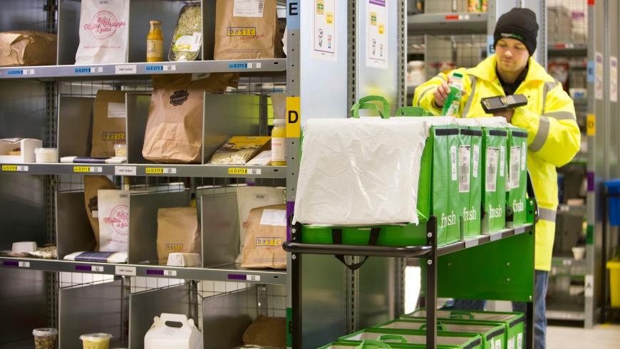 Amazon Fresh Logistik
