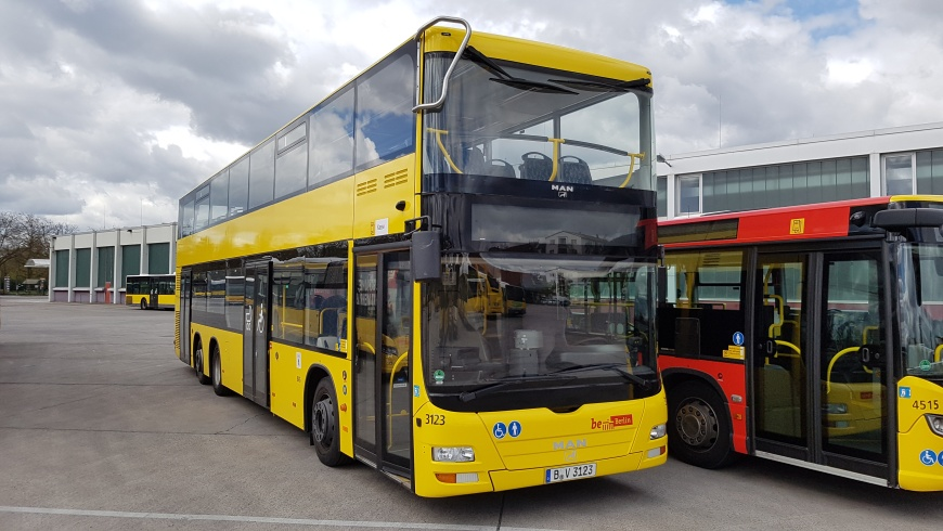 Doppeldecker-Bus Typ MAN A39