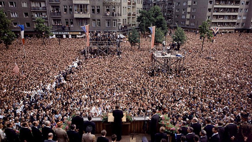 J.F. Kennedy am 26.6.1963