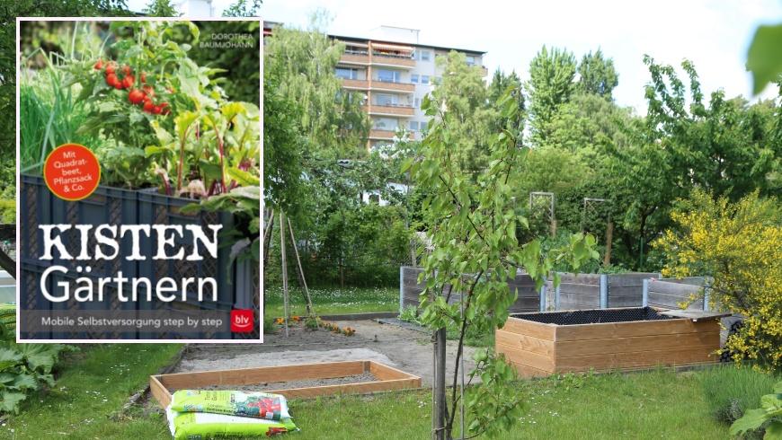 Gartentrend: KISTEN Gärtnern