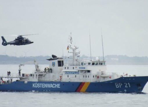 Über 25 Jahre im Dienst: Küstenwachboot der Bundespolizei