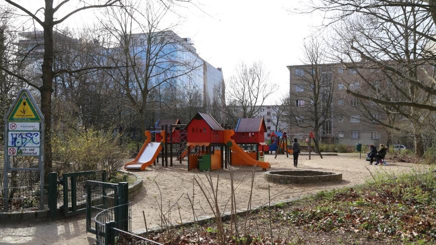 Spielplatz Rosenheimer Straße