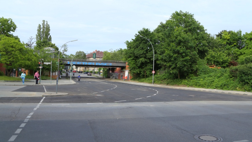 Baustellenfreigabe Attilastraße