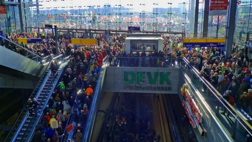 Interkultur - sichtbar im Hauptbahnhof