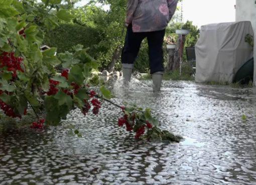 Mäckeritzwiesen unter Wasser