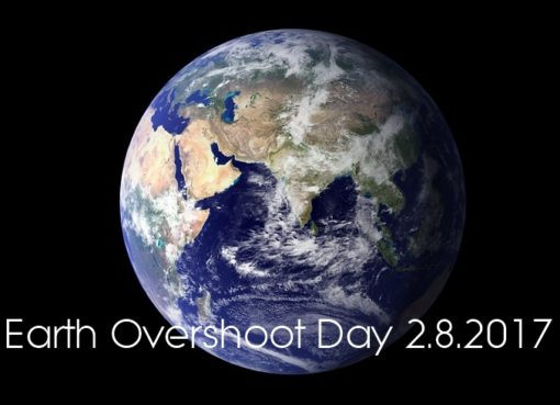Earth Overshoot Day 2.August 2017