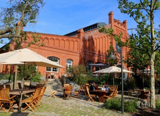 Restaurant Garten von Stone Brew