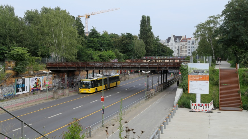 Bus-Ersatzverkehr U7 Yorckbrücken