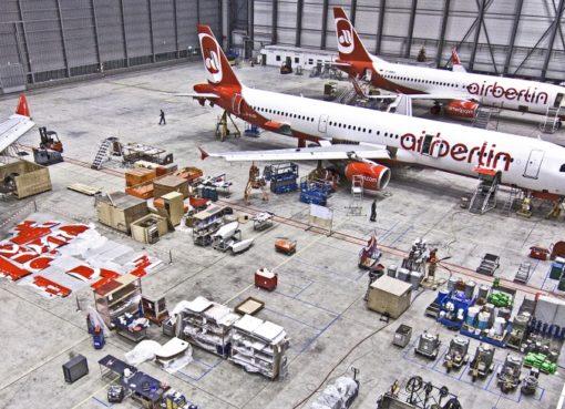 Technik-Hangar / airberlin