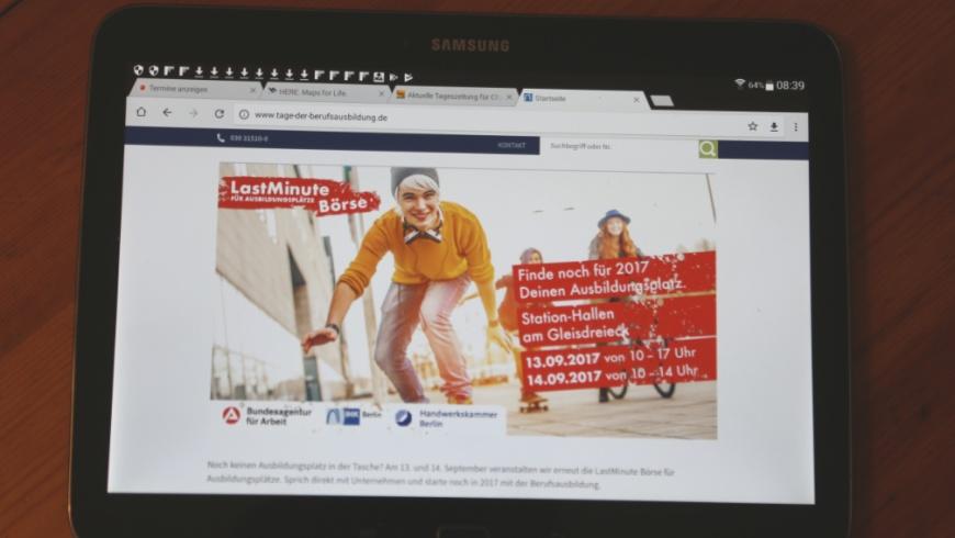 LastMinute Ausbildungsbörse 2017