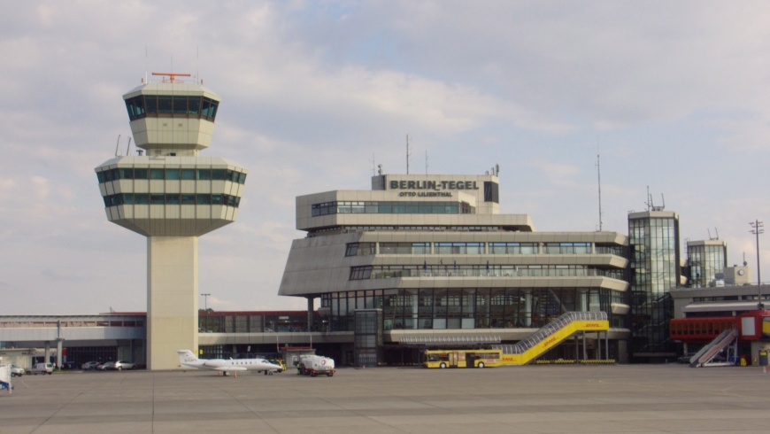 TXL Tower and Hauptgebäude