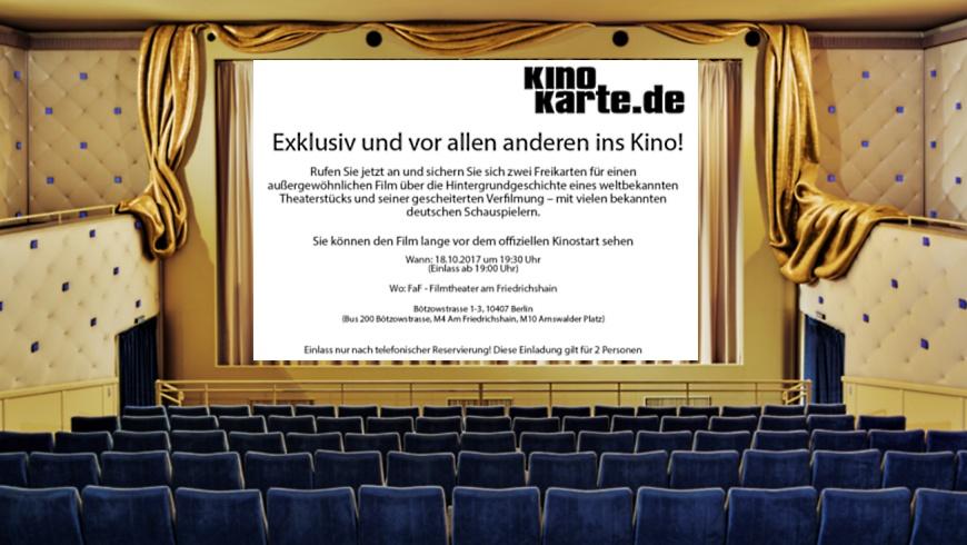 Testscrening im Filmtheater am Friedrichshain