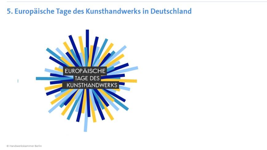 5. Europäische Tage des Kunsthandwerks