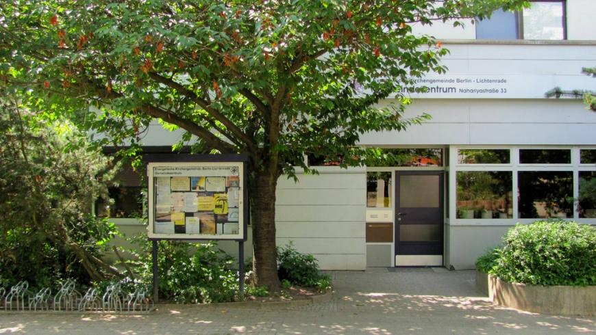 Gemeindezentrum Nahariyastraße 33