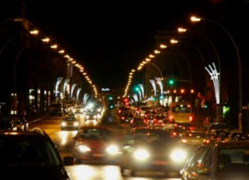 Weihnachtsbeleuchtung Te-Damm