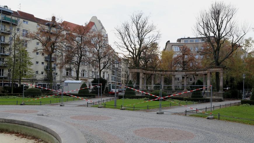 Baustelle Viktoria-Luise-Platz