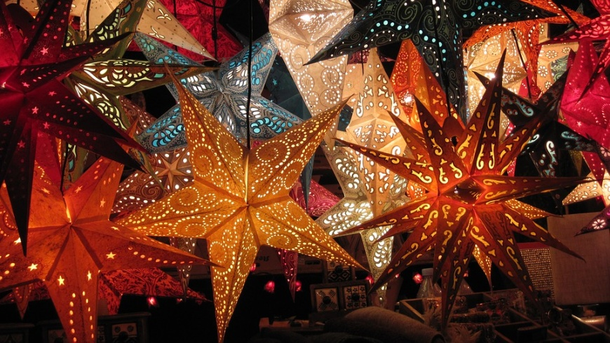 Advents- und Weihnachtssterne