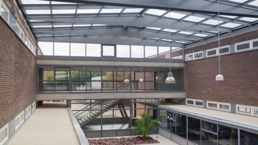 Innenhof Carl-Sonnenschein-Schule