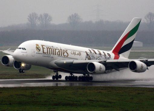 Airbus A380-800 von Emirates
