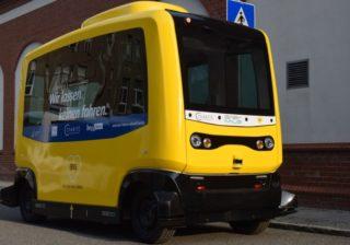 BVG testet autonomen Kleinbus