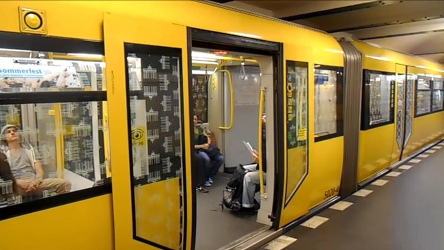 U-Bahn auf der Linie 7