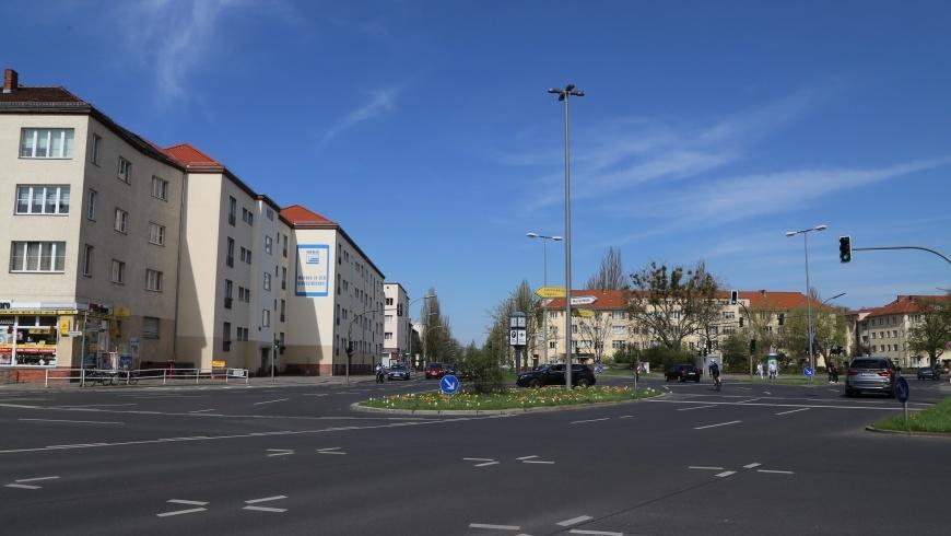Attilaplatz in Tempelhof