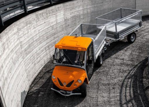 Das erste Berliner Sperrmüll-Taxi: