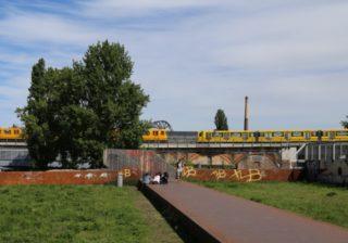 U-Bahnen am Gleisdreieck