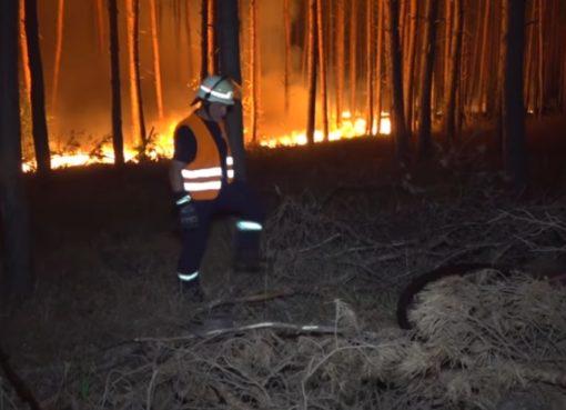 Waldbrand außer Kontrolle