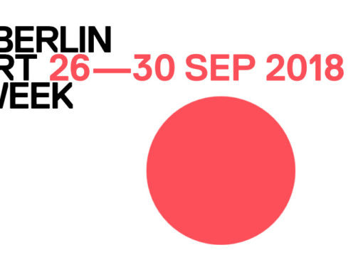 Berlin Art Week vom 26-30. September 2018 - offizielles Logo