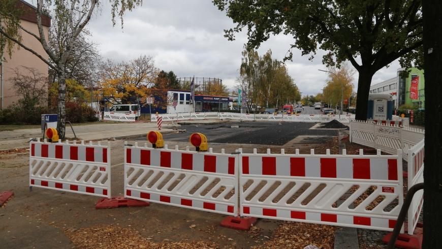 Baustelle Kamenzer Damm