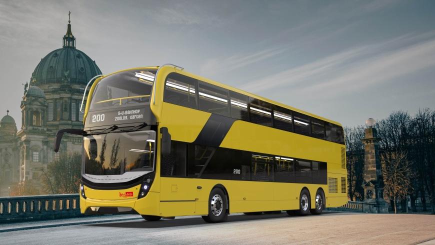 Enviro 500 Doppelecker-Bus