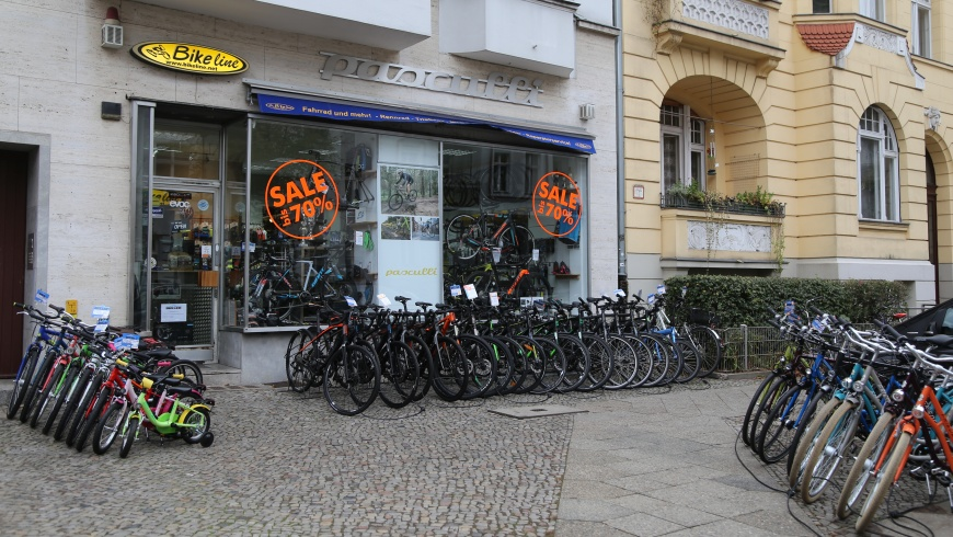 Bikeline in Friedenau