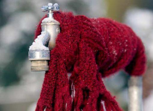 Gartenwasserleitungen vor Frost schützen!
