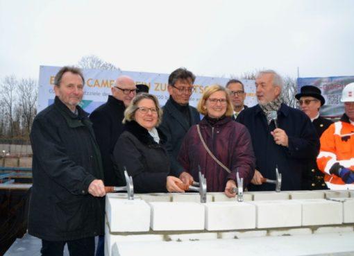 Grundsteinlegung für neue GASAG-Zentrale