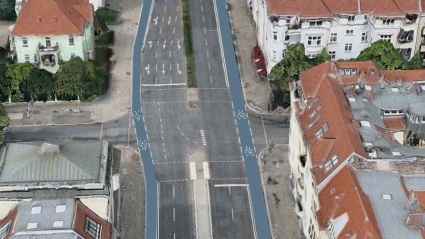 Radkonzept Tempelhofer Damm