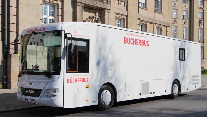 Der neue Bücherbus ist da!