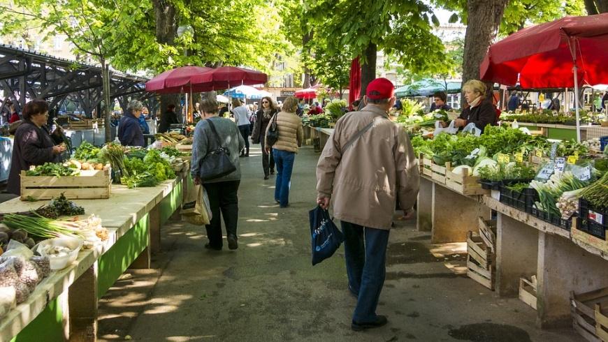 Wochenmärkte bringen Flair und Frische