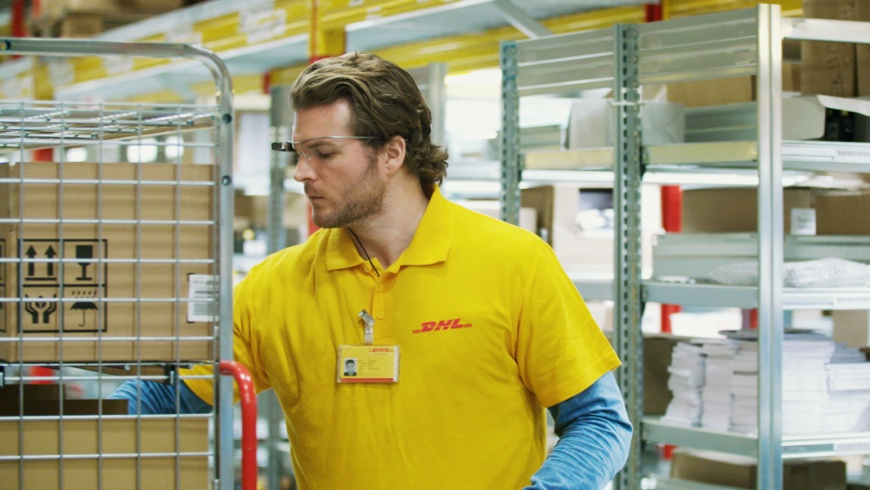 DHL: Vision Picking mit Datenbrille