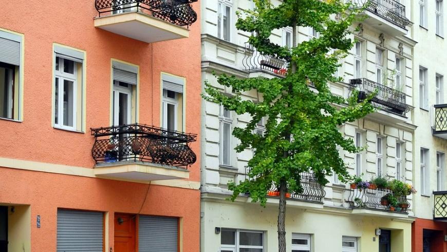 Modernisierte Altbauten in Moabit